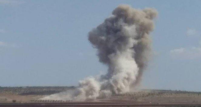 İdlib'in güneyine hava saldırısı: 1 ölü