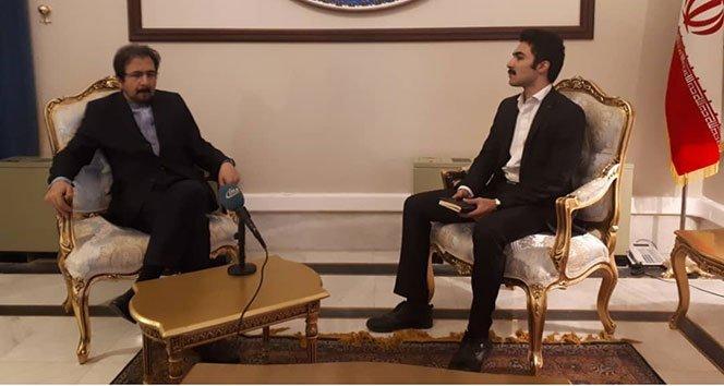 İran Dışişleri Bakanlığı Sözcüsü Kasımi, zirve öncesi İHA'ya konuştu