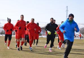 Çaykur Rizespor Maçının Hazırlıkları Sürüyor