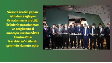 Sivas'taki Ürünler, Kazakistan'da Tanıtılacak