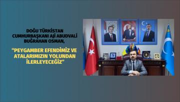 """""""Doğu Türkistan'ı Özgürleştirmek İçin Önce Türkiye'de Güçleneceğiz"""""""