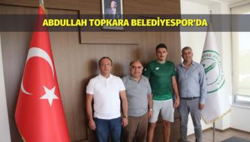Abdullah Topkara Belediyespor'da