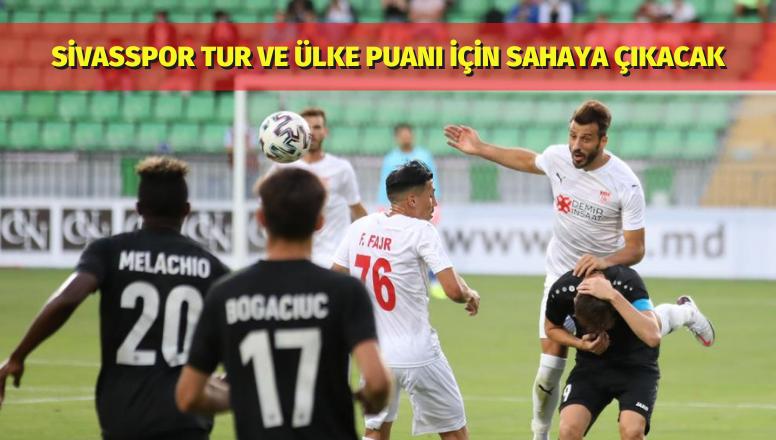 Sivasspor Tur Ve Ülke Puanı İçin Sahaya Çıkacak