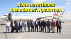 Sivas Heyetinden Kazakistan'a Çıkartma